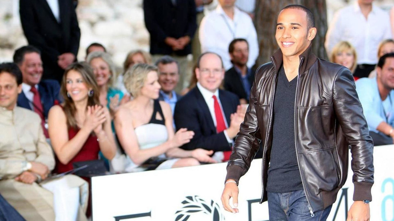 Lewis Hamilton at the 2009 event