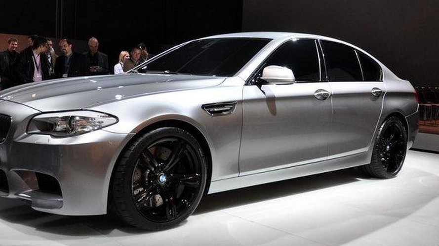 2012 BMW M5 Concept leaked