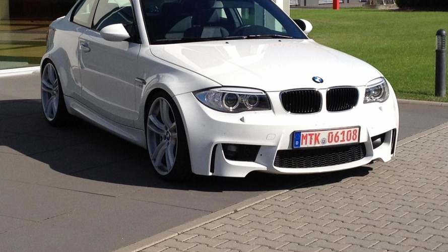 BMW 1-Series M Coupe replica powered by the old M5's V10 engine