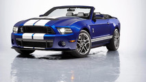 2013 Ford Shelby GT500 Convertible unveiled