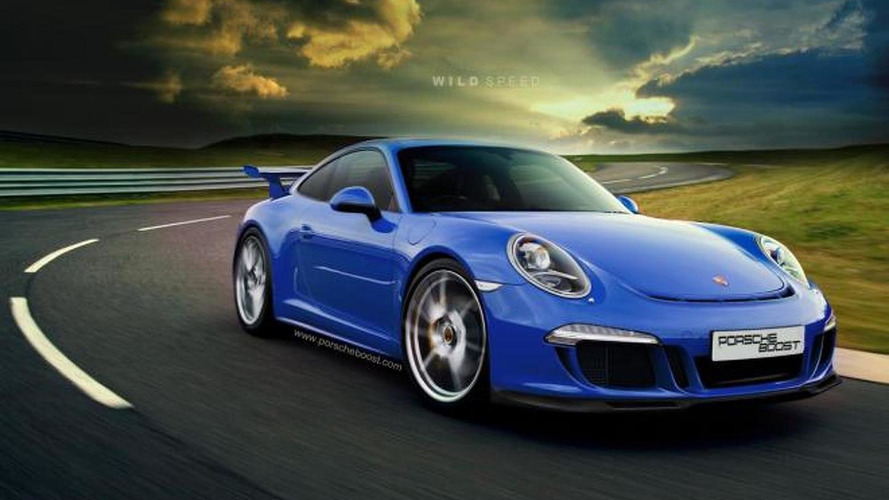 2014 Porsche 911 (991) GT3 rendered and speculated