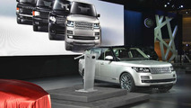 2013 Range Rover world debut at Paris Motor Show