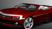 2011 Camaro Red Zone Concept for SEMA 28.10.2011