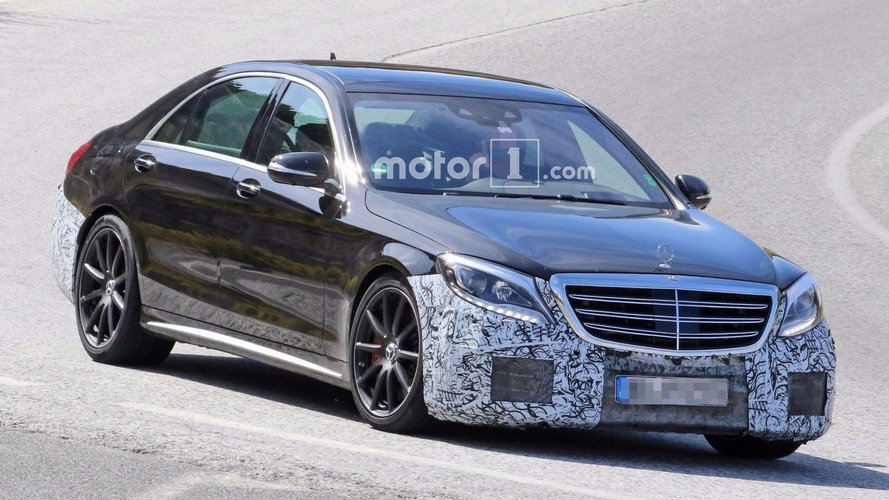 2018 Mercedes-AMG S63 and S Class spied testing