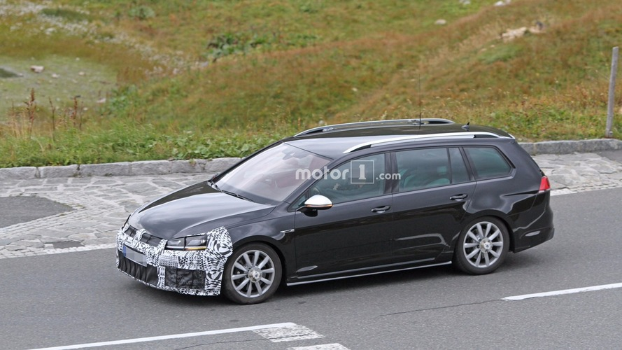 VW Golf R Variant facelift conducts brake tests
