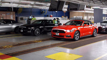 2015 Ford Mustang Convertible production
