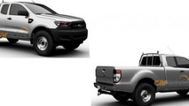 2015 Ford Ranger lineup patent image / Car Advice