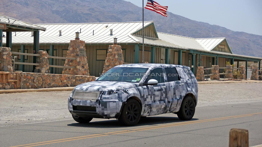 2015 Land Rover Discovery Sport spied again stateside