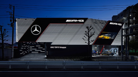 First standalone Mercedes-AMG showroom opens in Tokyo