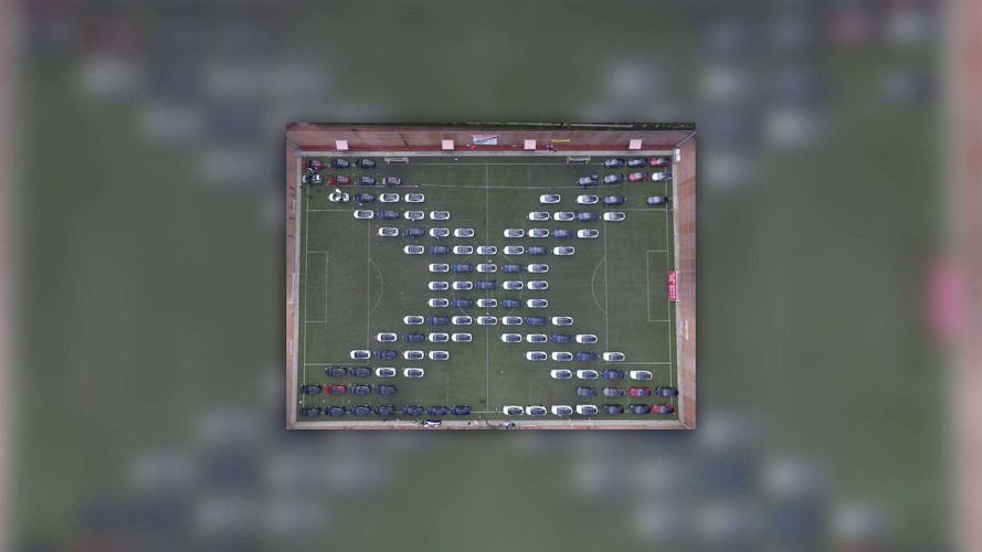 Tesla parade world record in China signifies massive growth