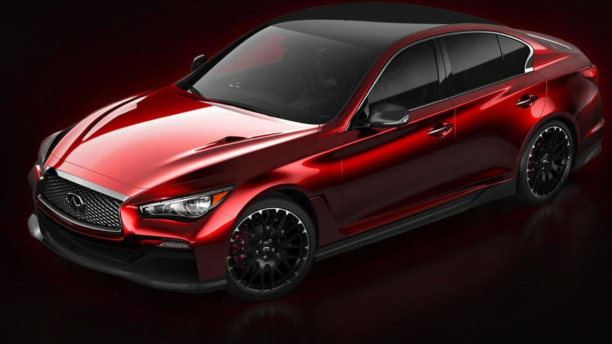 Infiniti Q50 Eau Rouge revealed with a number of carbon fiber components