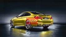 BMW M4 coupe concept leaked photo 15.8.2013