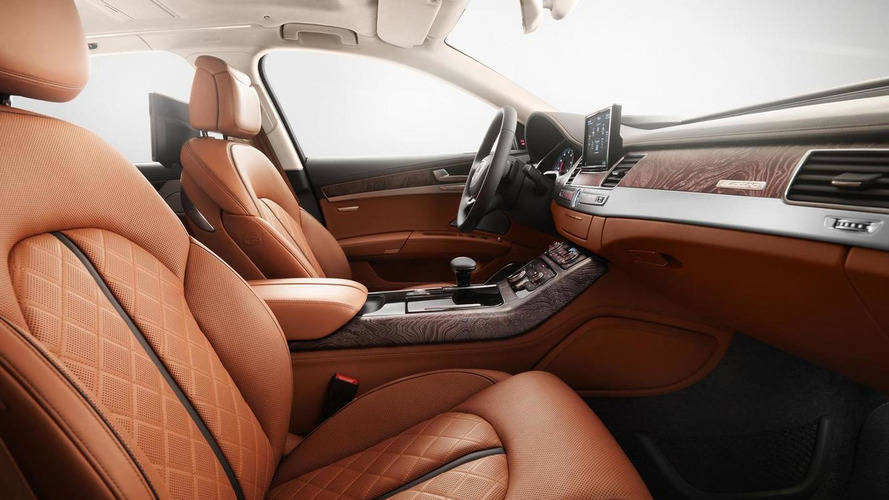 Audi A8 Exclusive Concept special edition gets special leather from Poltrona Frau