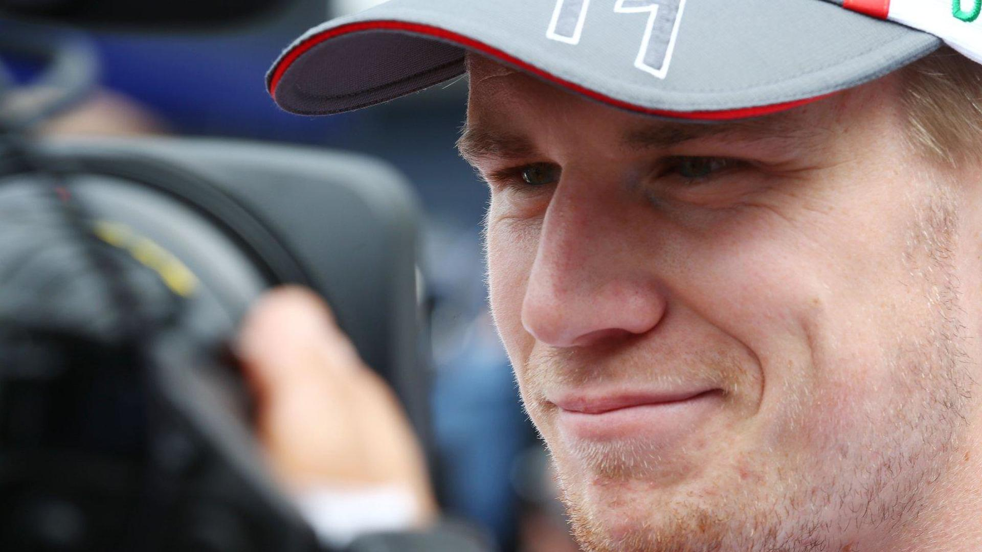 Hulkenberg not denying contract termination reports