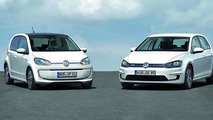 Volkswagen e-Golf and e-up! confirmed for IAA
