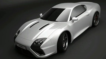 E-Go Revolt: First Images of a New Russian Sports car