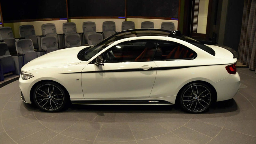 BMW M235i packed with M Performance goodies