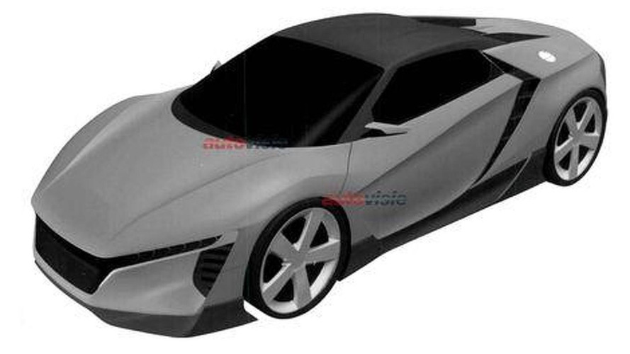 Mysterious Acura sportscar patent designs emerge