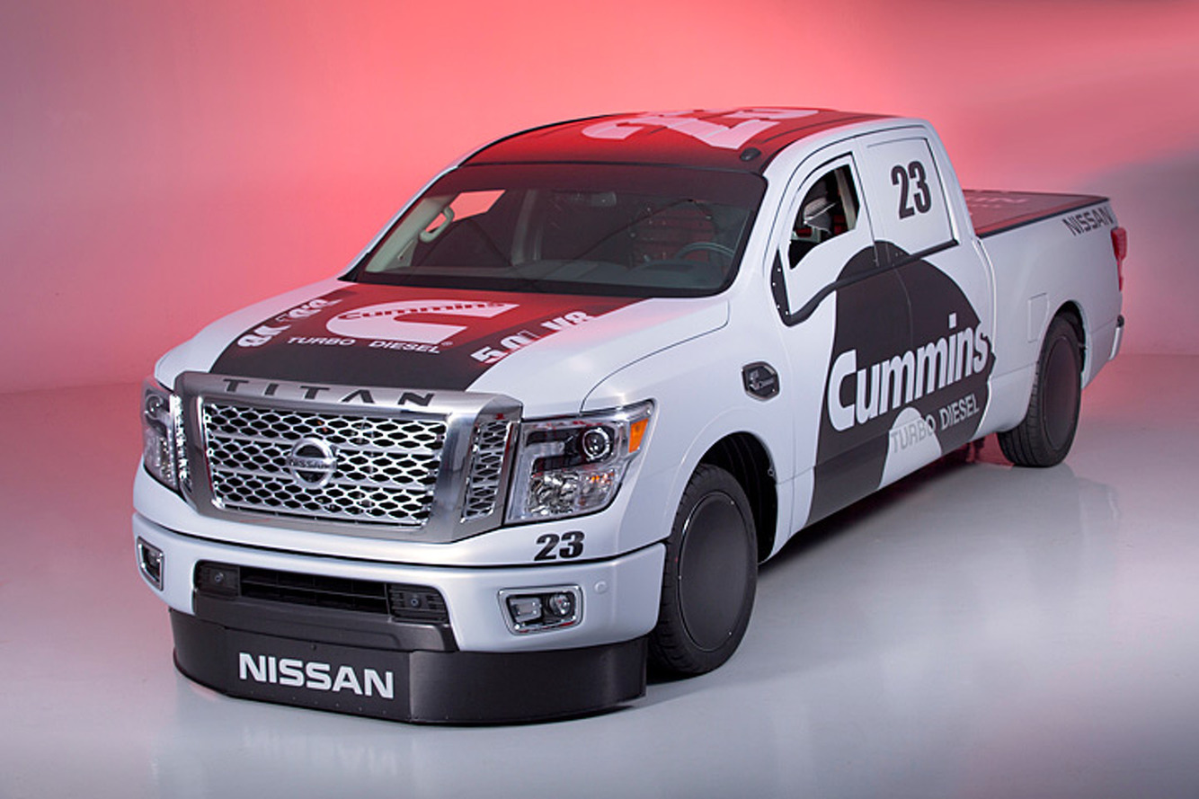 Nissan Aims for Land Speed Record with 2016 Titan XD