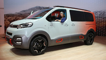 Citroen SpaceTourer HYPHEN brings splash of color to Geneva