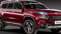 Fiat Toro SUV digitally imagined as Freemont successor