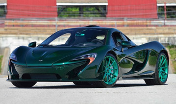 Go Green: One-Of-A-Kind McLaren P1 Heads to Auction in Monterey
