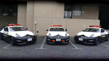 Japan Police adds trio of Nissan 370Zs to high speed patrol