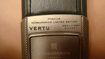 Vertu Nurburgring Race Track Edition mobile phone