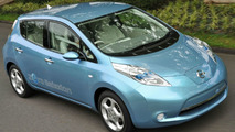 Nissan LEAF Electric Vehicle to be Built in UK