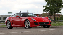 Ferrari 599 Roadster allegedly unveiled during Pebble Beach