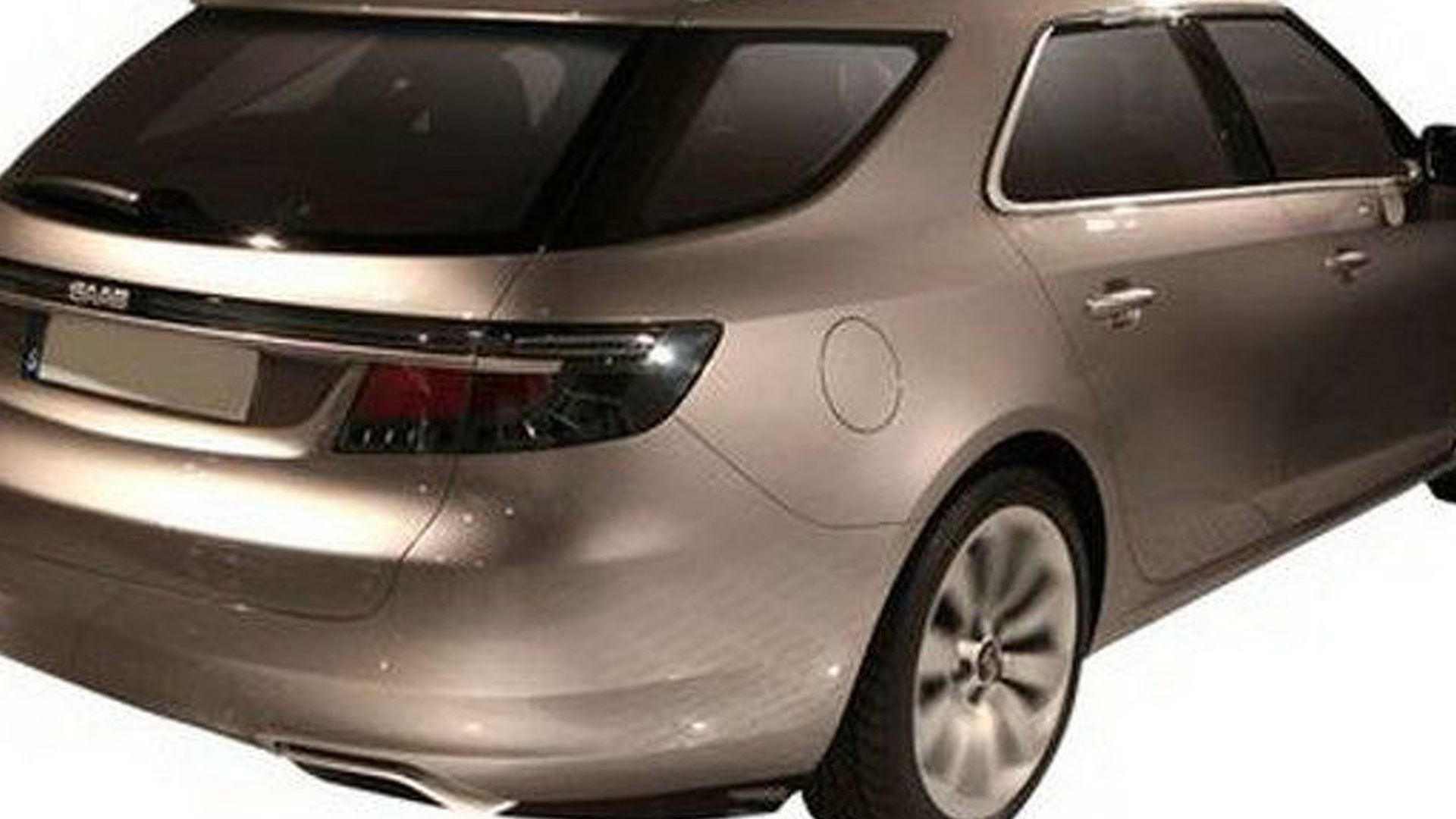 Saab Wind Down Resumes as New Photo of 9-5 Wagon Surface