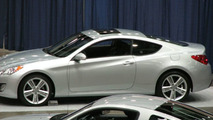 Hyundai RWD Genesis Sports Coupe UNCOVERED