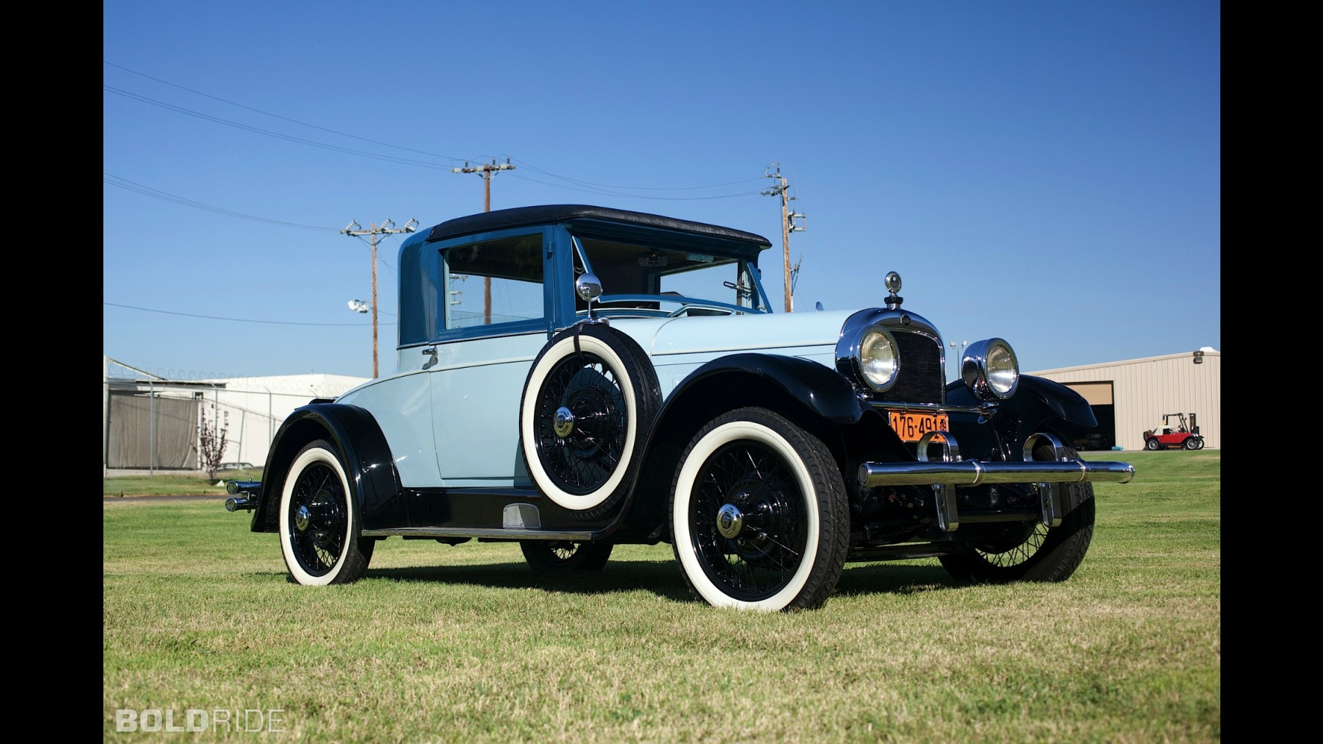 Nash Special Six Rumble Seat Coupe