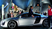 Audi R8 with Robert Downey Jr. in 'Iron Man' Movie