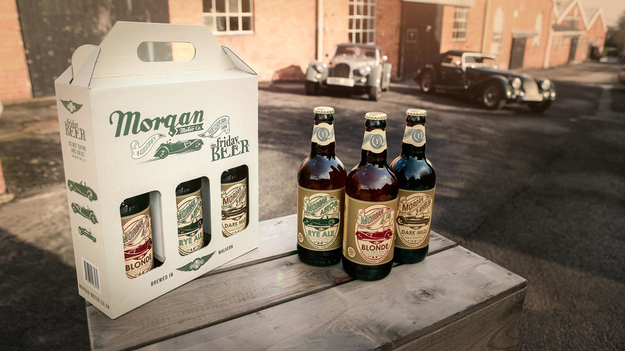 Morgan now selling beer as old-timey as its cars