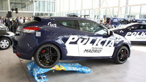 Madrid police acquires two Renault Megane RS