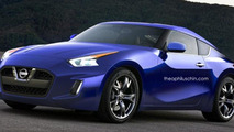Next generation Nissan 370Z render
