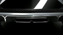 Third Teaser Surfaces for Mystery Lamborghini Four Door Concept