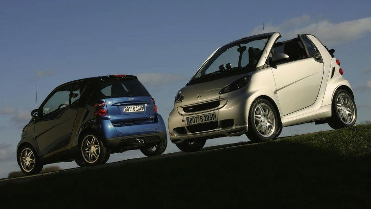 New smart fortwo BRABUS