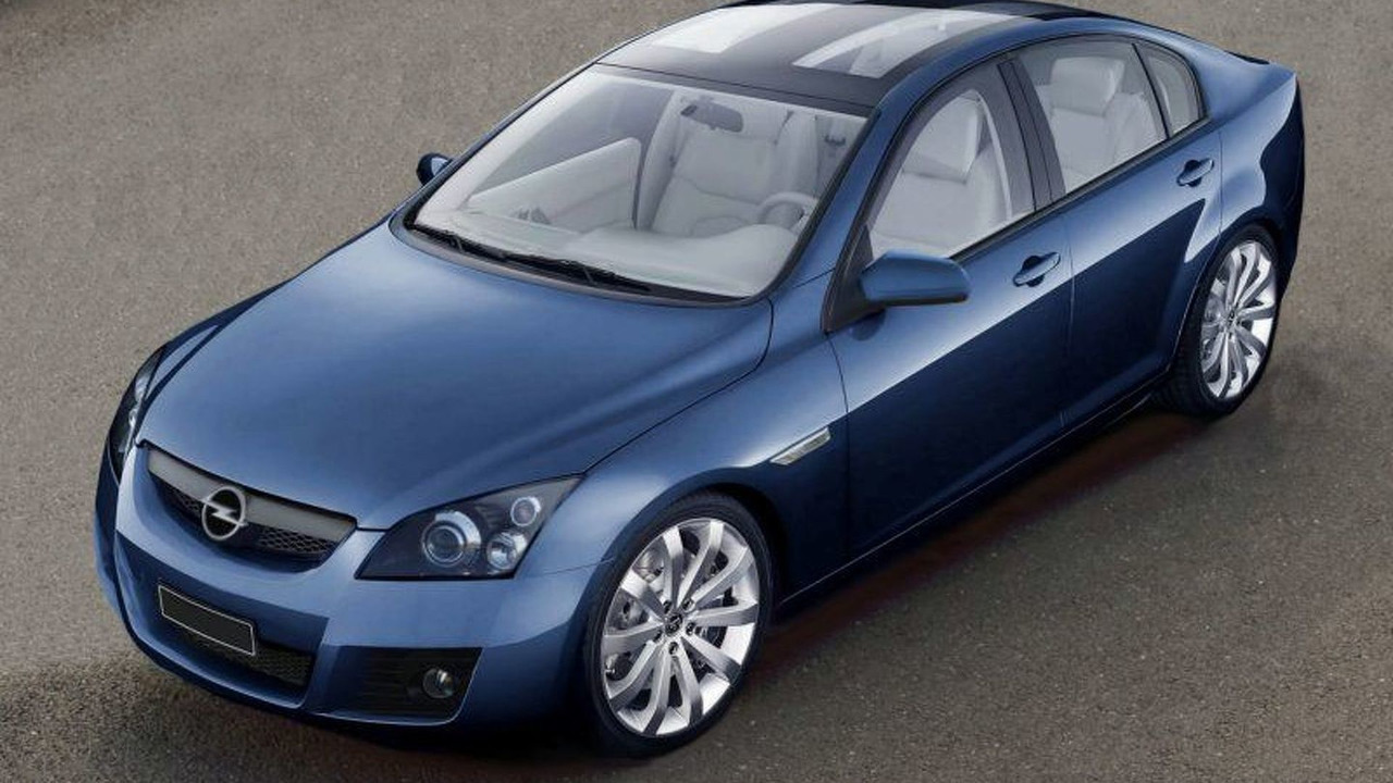 New Opel Vectra Artist Impression