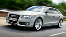 Audi A5 Sportback Illustration