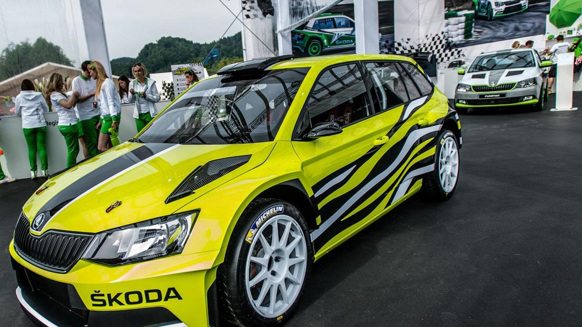 Skoda Fabia R5 Combi concept unveiled at Wörthersee