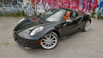 Review: 2016 Alfa Romeo 4C Spider