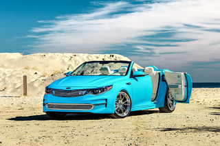 2016 Kia Optima Loses its Lid for the Sunshine State: SEMA Show
