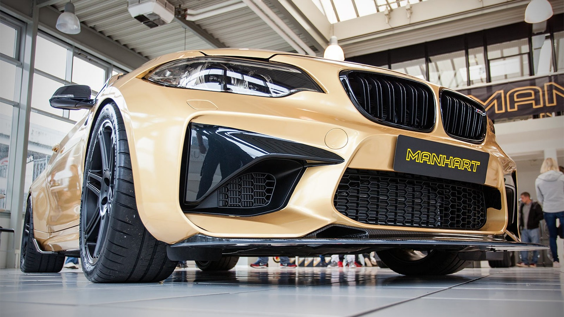 BMW M2 with 630 hp marks Manhart's 30th anniversary