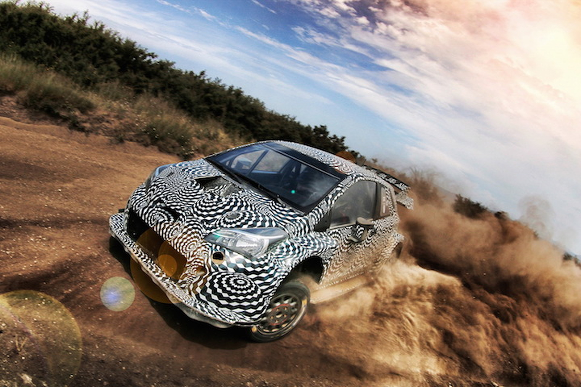 The New Toyota Yaris WRC Sounds Angry