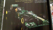 Eyebrows raise as 'ugly' Caterham photos leaked