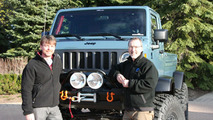 Mike Manley and Pietro Gorlier with the Jeep Mighty FC 27.3.2012