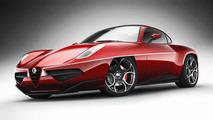 Carrozzeria Touring Disco Volante 2012 concept leaked