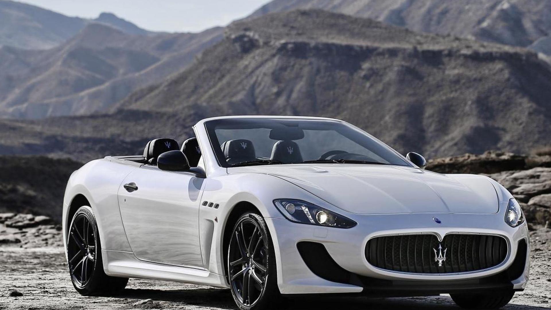 OFFICIAL: Maserati GranCabrio MC revealed